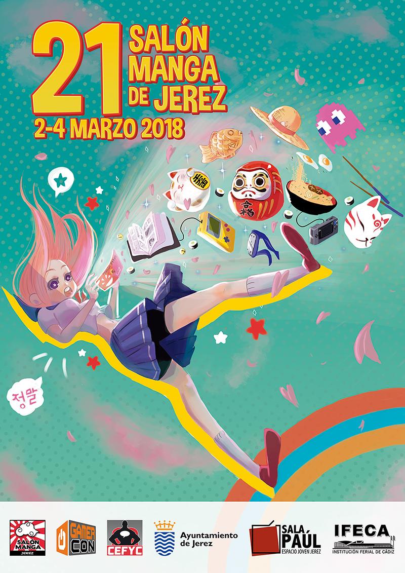 Salón Manga Jerez 02 – 04 Mar/2018