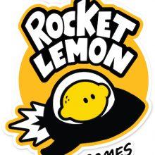 logo rocket lemon