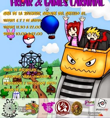 I Jornadas Freak and Games Carnival